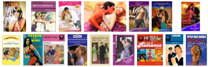 Mills and Boon Covers