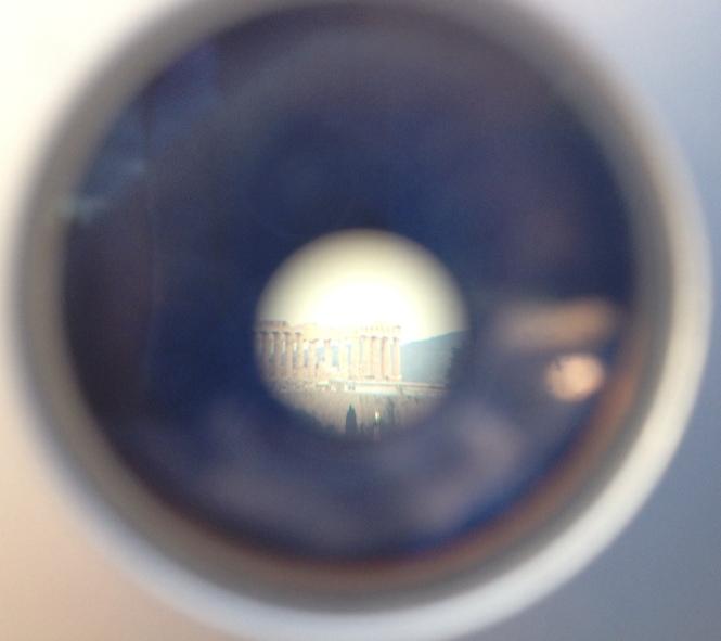 Acropolis through the lens