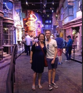 Diagon Alley, Harry Potter set