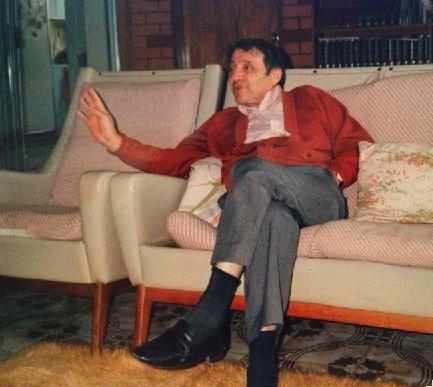 My dad, Paul Veros, in storytelling mode