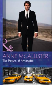 The Return of Antonides by Anne McAllister