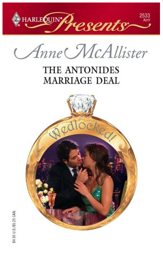 The Antonides Marriage Deal by Anne McAllister