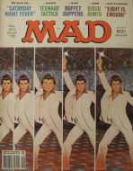 MAD Magazine - Saturday Night Fever cover