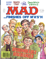 MAD Magazine MASH cover