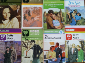 Variety of Betty Neels covers
