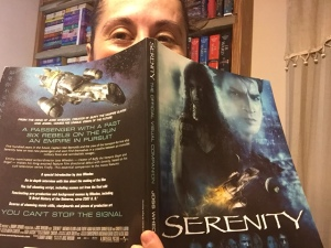 azteclady with a book in hand called Serenity