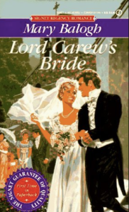 Balogh's Lord Carew's Bride