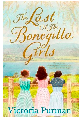 Cover of the book is very pretty in pastels. 3 girls standing at a fence overlooking a river. Which is odd because the book is about four girls.