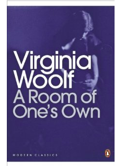 Book cover for Virginia Woolf's A Room of One's Own.