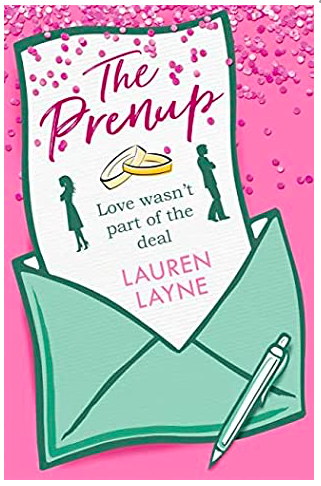 "The cover of The Prenup includes a byline ""Love wasn't part of the deal"""